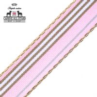 CLASSIC STRIPES PINK BROWN WHITE COLLECTION